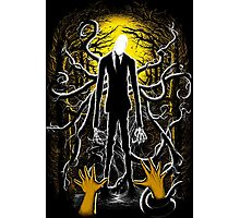 Slender Man 02 Photographic Print