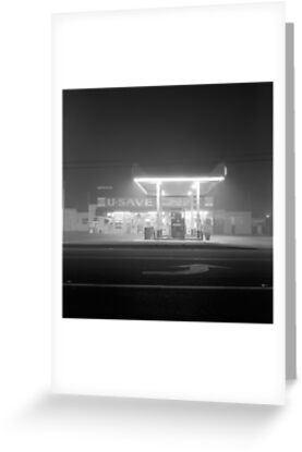 U-Save in fog by Harry Snowden