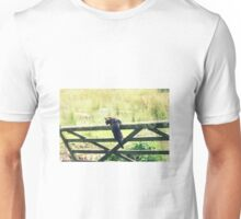 Jumping the old gate Unisex T-Shirt