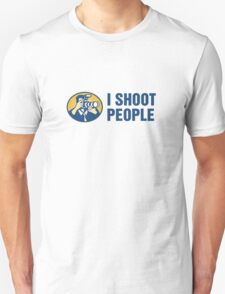 I Shoot People Unisex T-Shirt