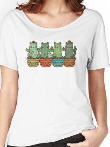 Catcus Garden Women's Relaxed Fit T-Shirt