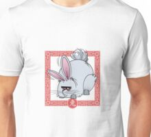 Chinese Astrological Sign Rabbit Unisex T-Shirt