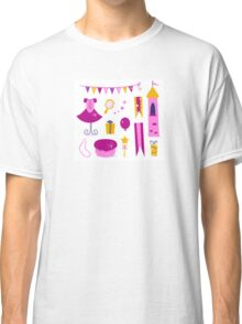 Vector collection of design elements for Princess Party Classic T-Shirt