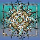 A Mermaid's Mandala by Desirée Glanville
