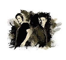 Sam & Dean Photographic Print