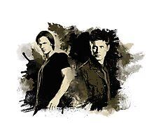 Sam & Dean Photographic Print
