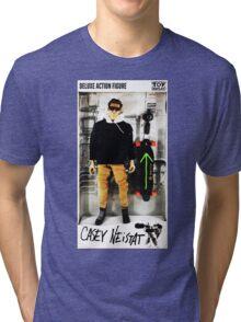 Casey Neistat Action Figure Tri-blend T-Shirt