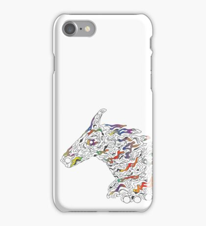 Horsy line iPhone Case/Skin