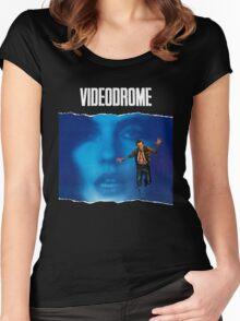 videodrome Women's Fitted Scoop T-Shirt