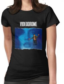 videodrome Womens Fitted T-Shirt