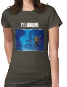 videodrome Womens Fitted T-Shirt