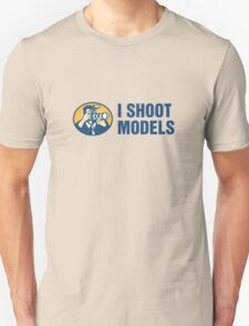 I Shoot Models Unisex T-Shirt