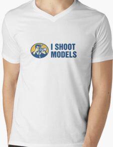 I Shoot Models Mens V-Neck T-Shirt