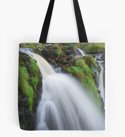 Waterfall..The Loup (Leap) of Fintry Tote Bag