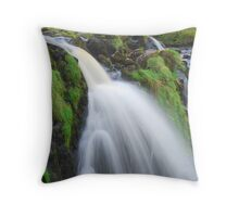 Waterfall..The Loup (Leap) of Fintry Throw Pillow
