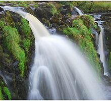 Waterfall..The Loup (Leap) of Fintry by MY Scotland