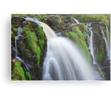 Waterfall..The Loup (Leap) of Fintry Metal Print