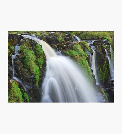 Waterfall..The Loup (Leap) of Fintry Photographic Print