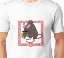 Chinese Astrological Sign Rat Unisex T-Shirt