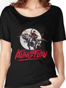 Kung Fury Clasic Movie Women's Relaxed Fit T-Shirt