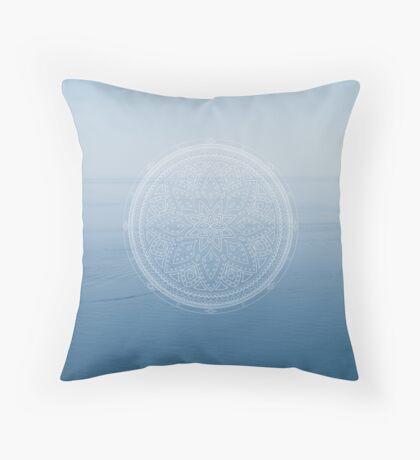 Boundless Mandala Throw Pillow