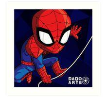 Spiderman Chibi Art Print