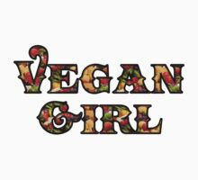 Vegan Girl Kids Tee