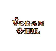 Vegan Girl Photographic Print