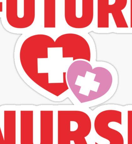 Future Nurse Sticker