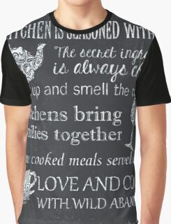 This Kitchen is Seasoned with Love Graphic T-Shirt