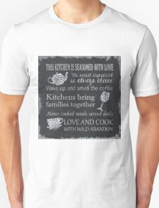 This Kitchen is Seasoned with Love Unisex T-Shirt