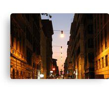 Architecture italienne Canvas Print