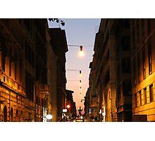 Architecture italienne Photographic Print
