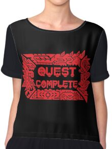 Monster Hunter Quest Complete Chiffon Top