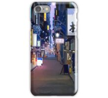 Night in Japan  iPhone Case/Skin