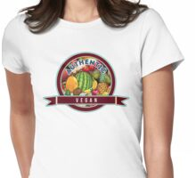 Authentic Vegan Womens Fitted T-Shirt