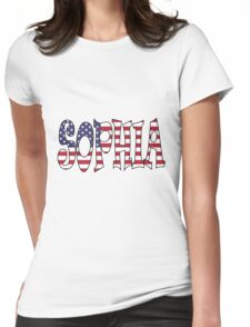 Sophia (USA) Womens Fitted T-Shirt