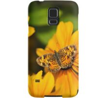 Pearl Crescent Butterfly Samsung Galaxy Case/Skin