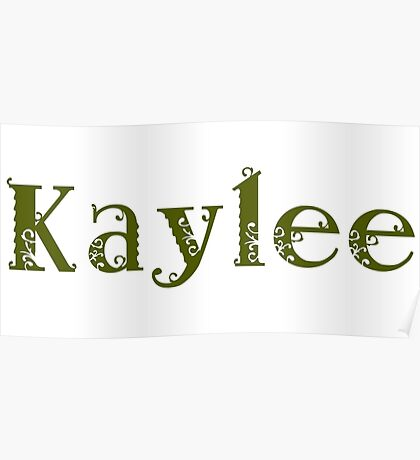 Kaylee - Army Green Poster