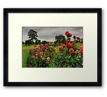 Beautiful Garden in HDR Framed Print