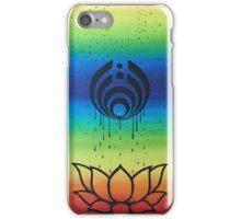 Bassnectar Raining Down on Lotus Flower iPhone Case/Skin