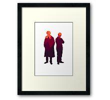 Partners in Crime  Framed Print