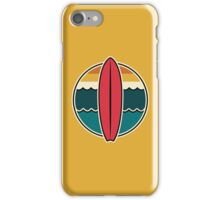Surfboard graphic stickers, etc! iPhone Case/Skin