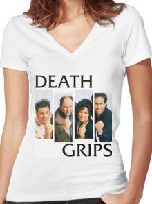 Seingrips Women's Fitted V-Neck T-Shirt