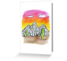 First Aid Kit Greeting Card
