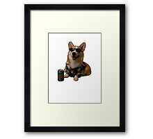 Slurms Mckenzie Dog Framed Print