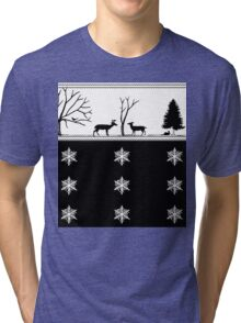 Winter Scenery Tri-blend T-Shirt