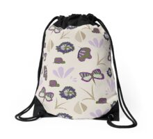 Delicate wings - Mid season on the hill collection Drawstring Bag