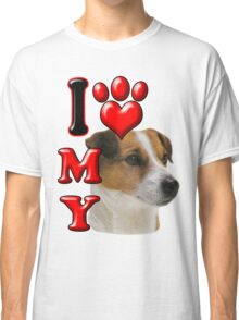I Love My Jack Russell Classic T-Shirt