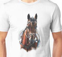 Horse rideing Unisex T-Shirt